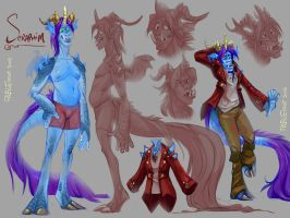 Seraphim Sketch Sheet by FablePaint
