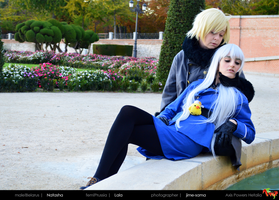 APH - The princess and her knight. by CallOfFateAndDestiny