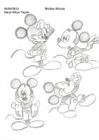 Disney Portfolio Mickey Mouse 2 by DarylT