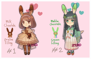 Valentine adoptables! CLOSED by ZeroLifePoints