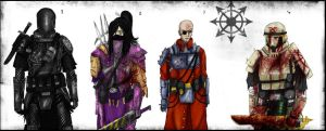 Chaos Cultists  Request by Taurus-ChaosLord