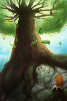 The Giant tree by DivLight