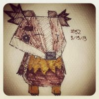 Napkin Art 152 - Chippy - Monster Life for iPad by PeterParkerPA