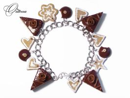 Chocolate and biscuits 1 by OrionaJewelry