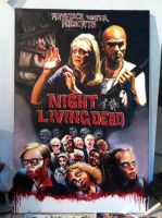 Night of the Living Dead by Contrapposto