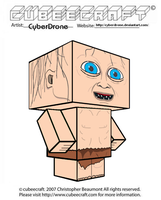 Cubeecraft - Gollum by CyberDrone