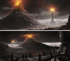 Mordor Speedpaints by Alpha-Step
