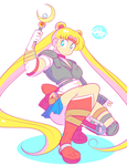 Sailor Moon x Mad Max by theycallhimcake