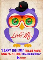 Larry the Owl. by jhasson