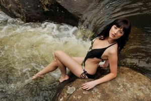 Louise - at the rapids 2 by wildplaces