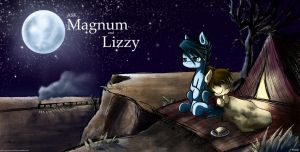 Ask Magnum and Lizzy- take 2 by Jasper77Wang