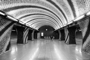 World Spiral / A Rifled Metro Station by HoremWeb