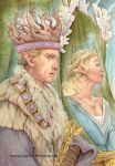 The Elfin King and Queen by yaamas