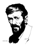 Portrait of DHLawrence by LiamSharp