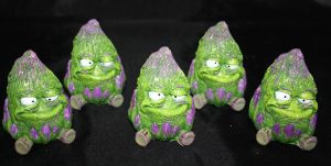 Best Buds resin figures purple APs by anthonyDeVito