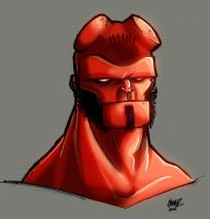 Hellboy Again... by Lawnz