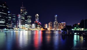 Brisbane City by AlwaysJaclyn