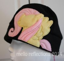 Fluttershy Fleece Hat by MelloReflections