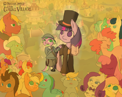 Professor Sparkle and the Curious Village by Brinaner
