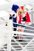 Alto and Sheryl - Macross Frontier cosplay by Rael-chan89