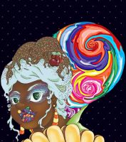 Queen of Sweets by lady-toyano