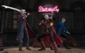Devil May Cry - Dante, Vergil and Nero by Jared789