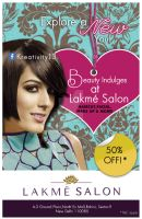 Lakme Salon Flyer by Krazy-Kriti