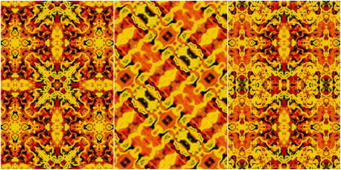 Fiery Seamless Patterns by Kaleiope-Studio