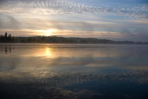 Misty Dawn At Vuoksi 4 by wolfheart83