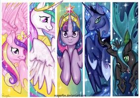 Pony Royalty by reaperfox
