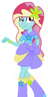 Breeziesweet The Breezie - Equestria Girls OC by SJArt117