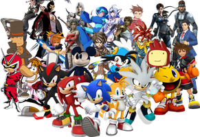 Third Parties Characters Best Fit Super Smash Bros by NintendoFanDj
