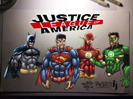 Justice League of America by MadcapLLC