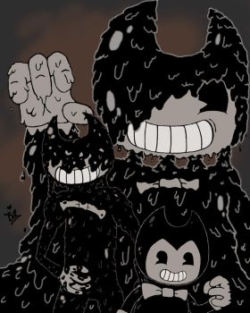 Bendy and the ink machine Bendy wallpaper by bbbri-and-friends