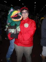 Megacon '14: Seymour and Audrey II by NaturesRose