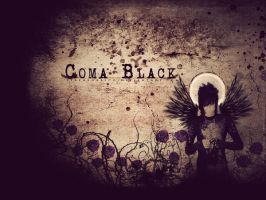 Coma Black Wallpaper by efrenloresco