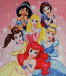 Disney Princesses by Devi-Tiger
