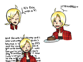 Eri-chan doodles by Dragoncookie