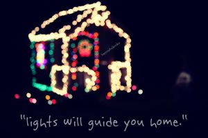 1/2/13 : day 2 : lights will guide you home. by handmadebyhannah