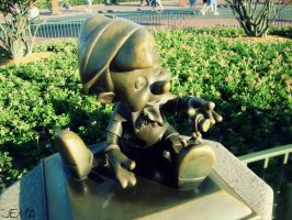 Pinocchio Statue by JustEatMyApple
