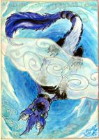 ACEO On the Clouds by Sysirauta