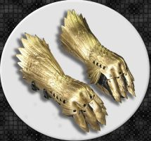 Gryphon Gauntlets by Azmal