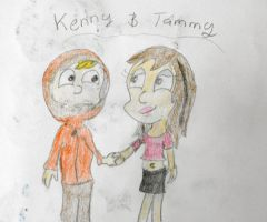 Kenny and Tammy by founten
