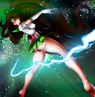 Sailor Jupiter by DarkestMbongo