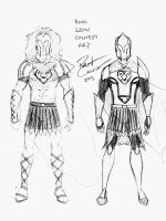 King Leon Concept Art by TheHypotheticalNerd