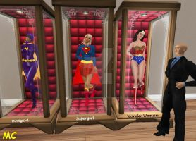 Luthor's Doll Collection by The-Mind-Controller