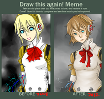 Before And After Meme by lionfishstick