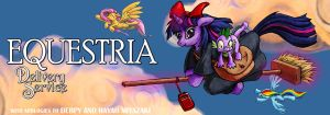 Twilight's Delivery Service by harwicks-art