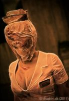 Silent Hill Nurse by MortenW