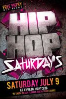 Hip Hop Flyer by Industrykidz